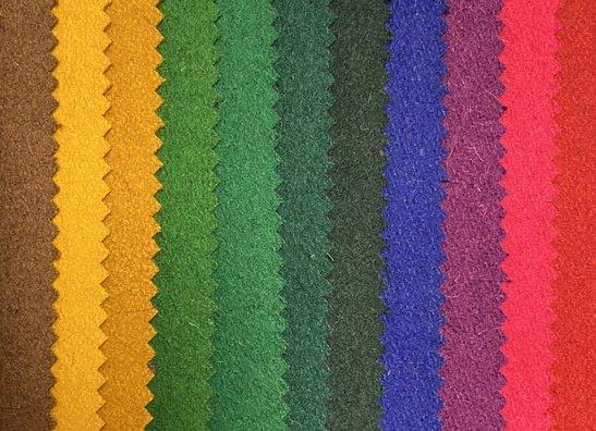 Tissus de manteaux en laine