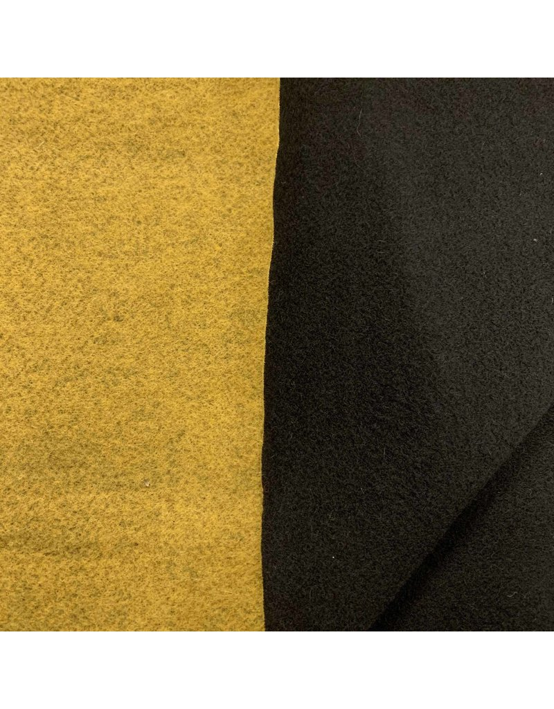 Double Face DF9 - yellow ocher / black