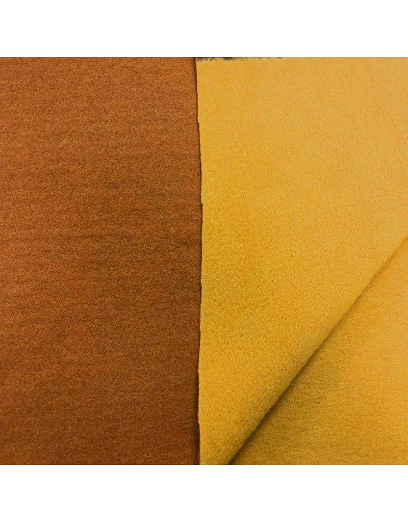Double Face DF19 - kerrie/ geel