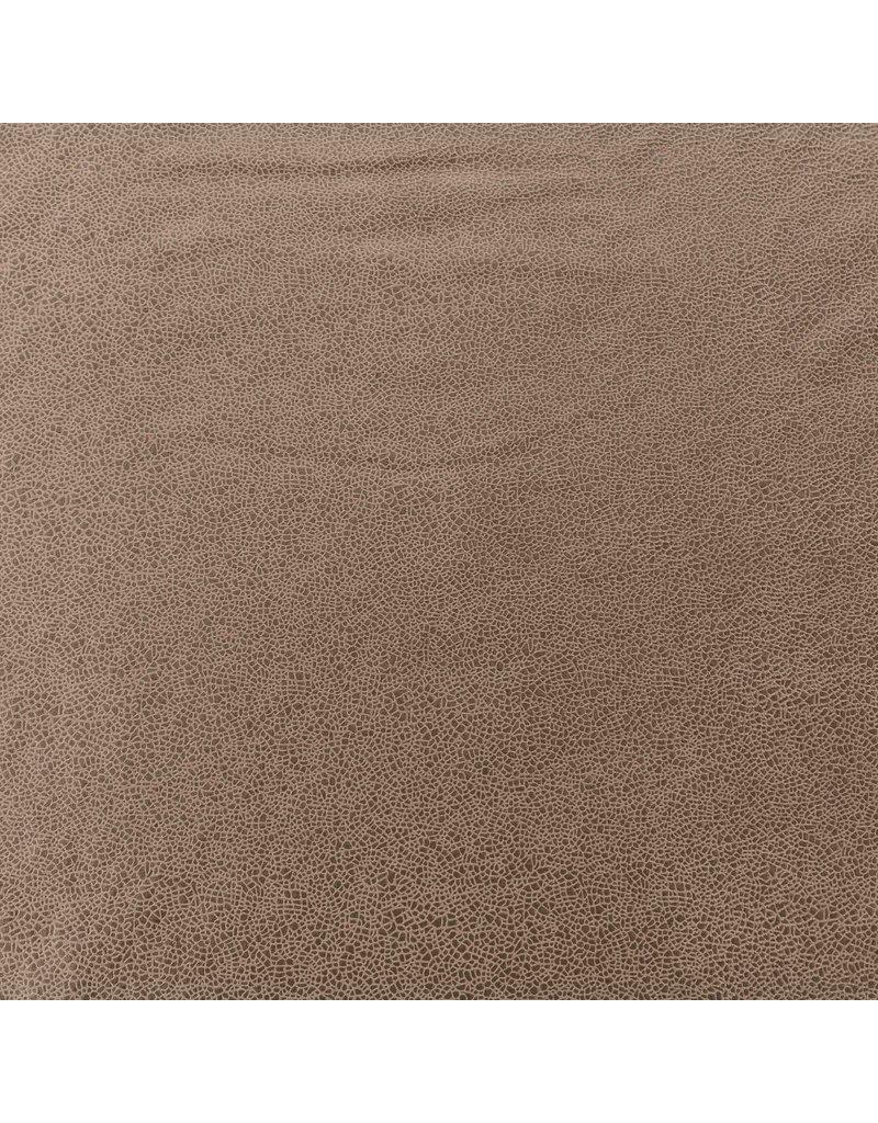 Imitatie Leder IL09 - beige / bruin