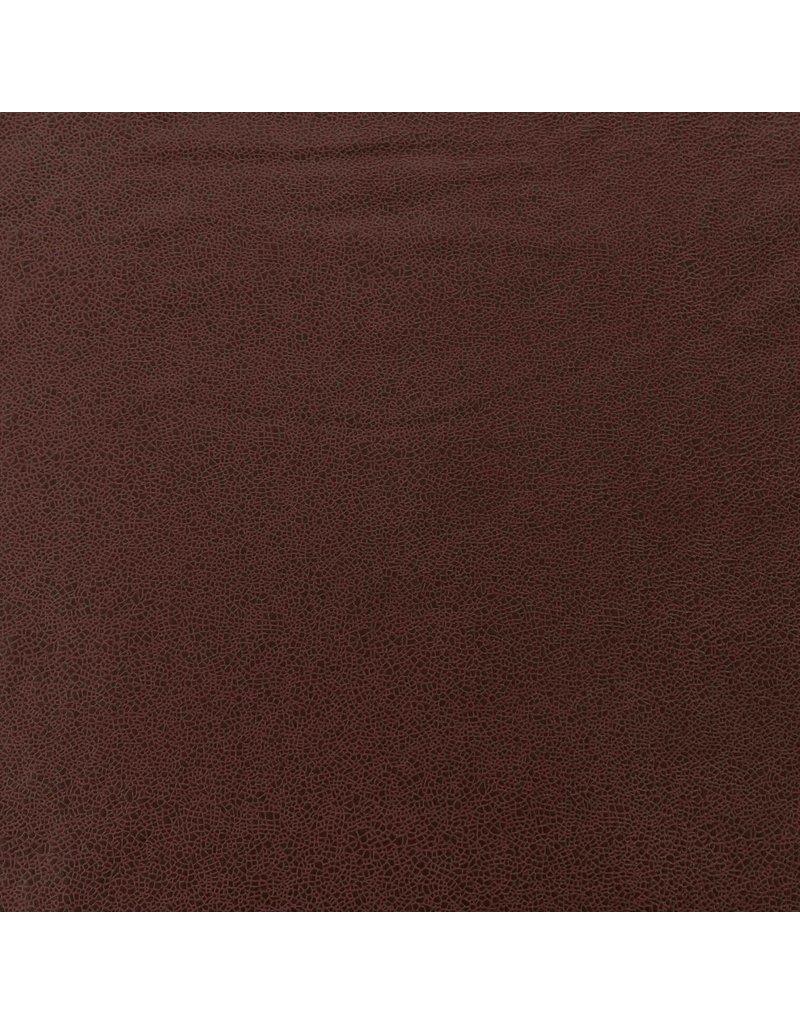 Imitatie Leder IL25 - rood bruin