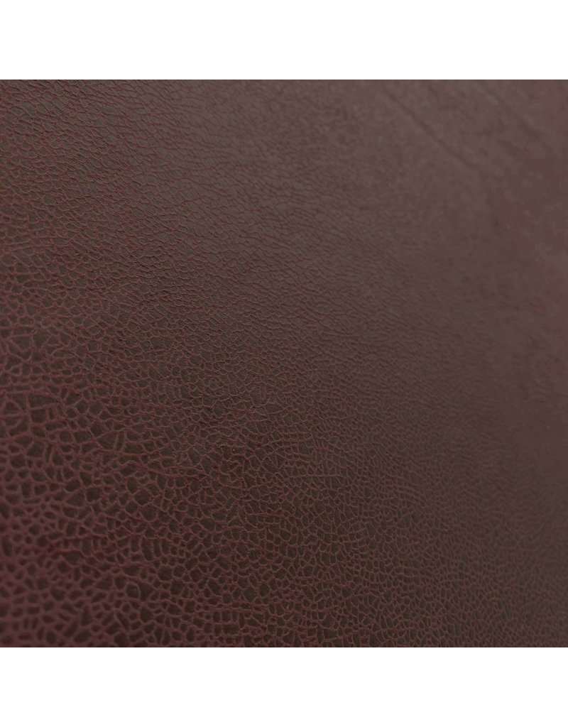Imitation Leather IL25 - red brown