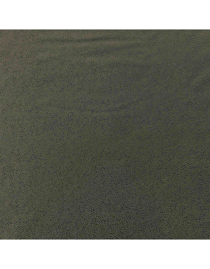 Kunstleder IL54 - olivgrün