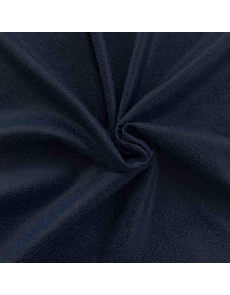 Imitatie Leder IL59 - nachtblauw