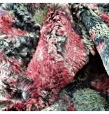 Imitation Fur with print IB05