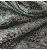 Imitatie Snake Leather SL05 - legergroen