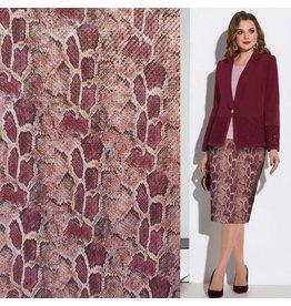 Imitation Snake Leather SL02 - rot / pink