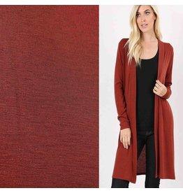 Jersey de laine JW01 - marron selle