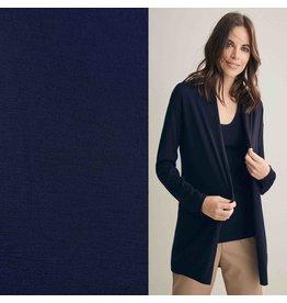 Jersey de laine JW03 - bleu nuit