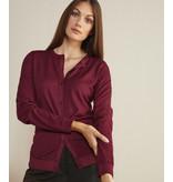 Jersey de laine JW05 - rouge foncé