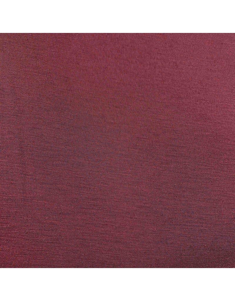 Wol Jersey JW05 - donkerrood