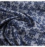 Jacquard 1008 - bleu / gris