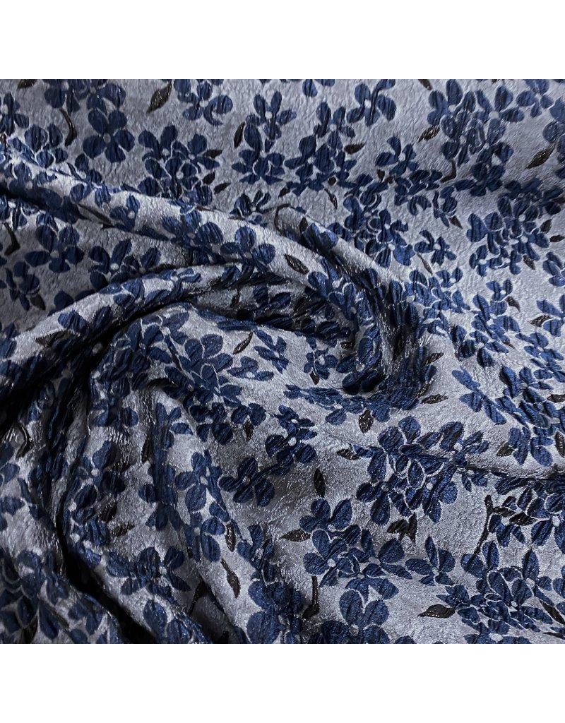 Jacquard 1008 - blauw / grijs