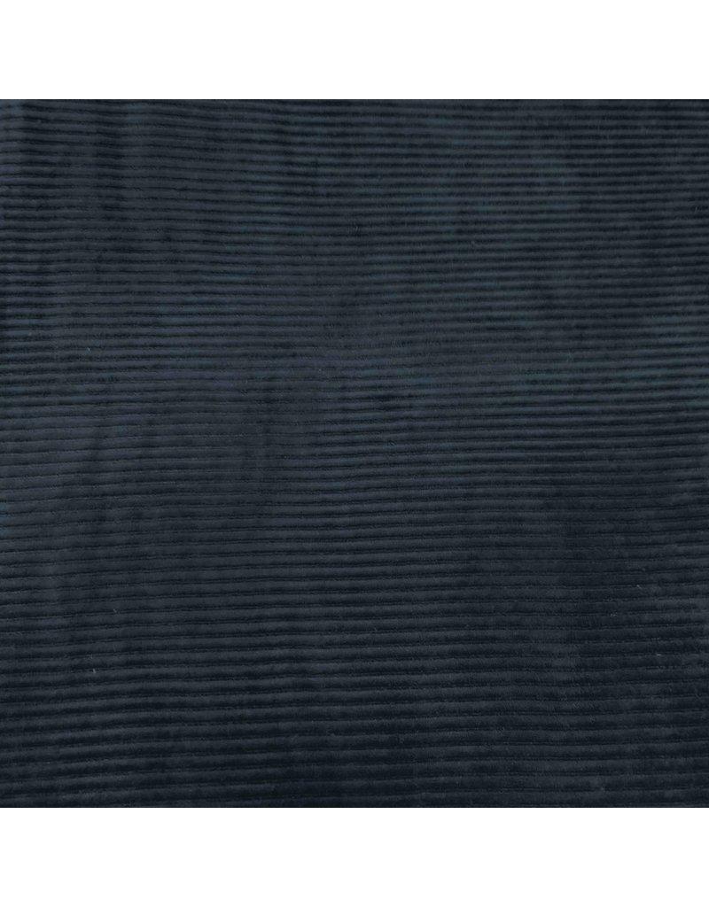 Gebreide Corduroy CY07 - marineblauw