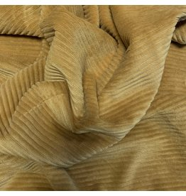 Knitted Corduroy CY09 - honey yellow