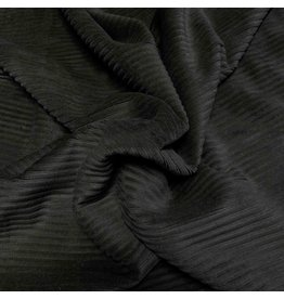Knitted Corduroy CY10 - black