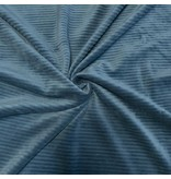 Gebreide Corduroy CY11- zee blauw
