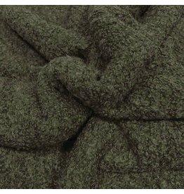 Bouclé Knit BB28 - olivgrün! NEU!