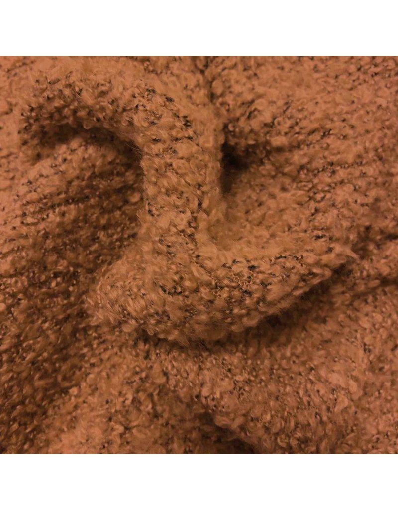 Tricot bouclé BB29 - caramel