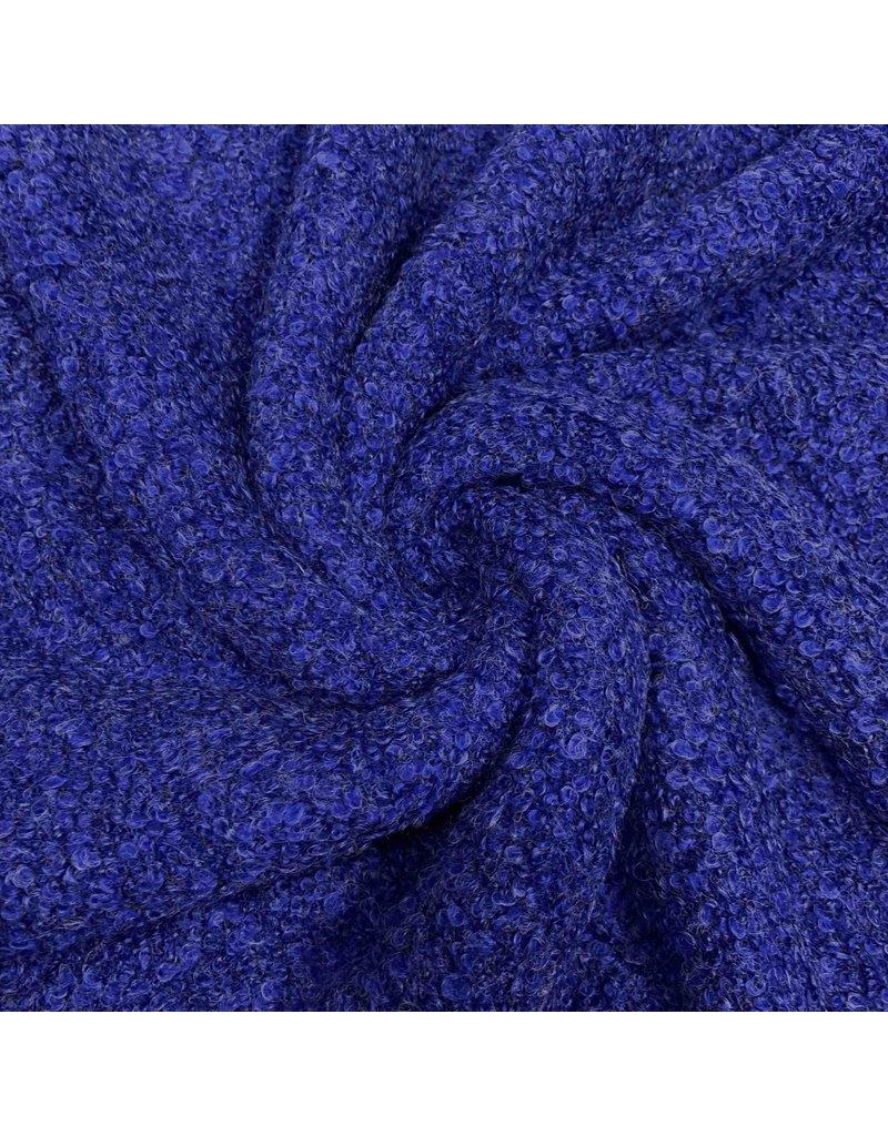 Bouclé Knit BB03 - Kobaltblau