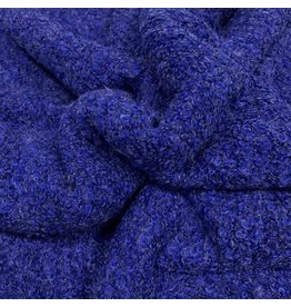 Bouclé Knit BB03 - cobalt blue