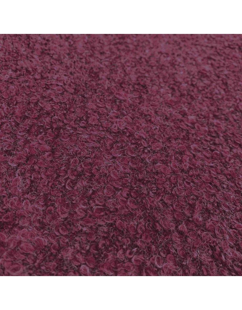 Bouclé Knit BB05 - Dark Fuchsia