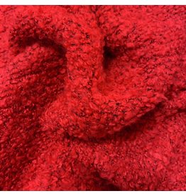 Bouclé Knit BB06 - bright red