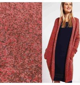Bouclé Knit BB07 - rouge corail