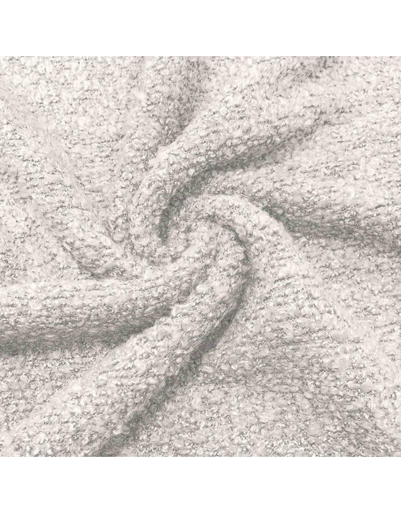 Bouclé Knit BB09 - Crememelange