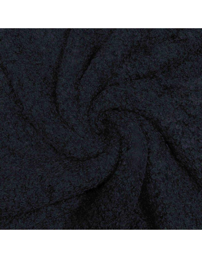 Bouclé Knit BB14 - Dunkelblau