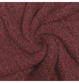 Bouclé Knit BB20 - dunkelrot