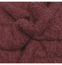 Bouclé Knit BB20 - dark red