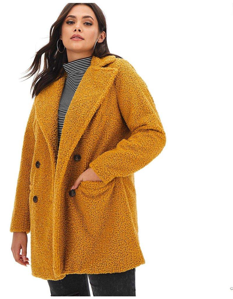 Bouclé Knit BB23 - honey yellow