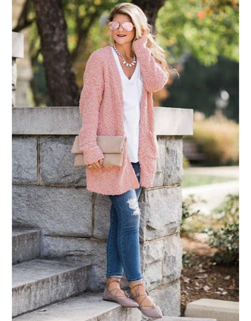 Bouclé Knit BB26 - powder pink