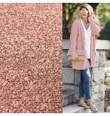 Bouclé Knit BB26 - rose poudré