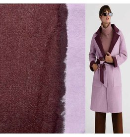 Double Face DF20 - burgundy / lilac