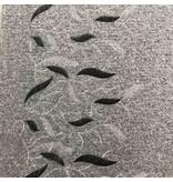 Gekochte Wolle mit Stickerei W156