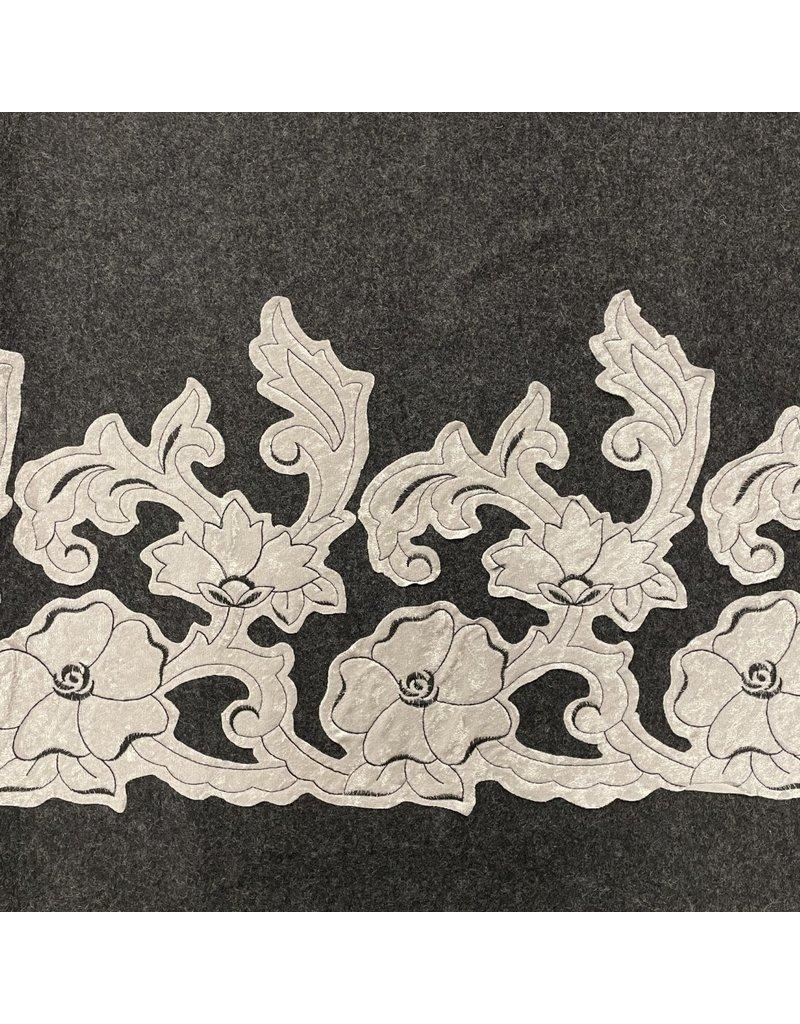Gekochte Wollstickerei W38