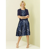 Jersey 2747- donkerblauw/wit