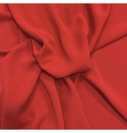 Crepè Chiffon 2761 - intens rood