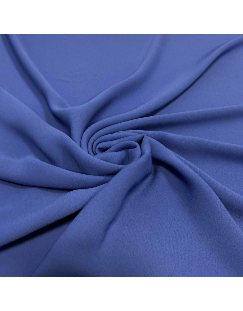Crepè Chiffon 2770 - intens kobalt blauw