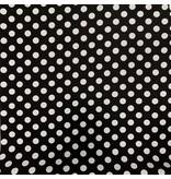 Viscose Crèpe 2804 zwart-wit