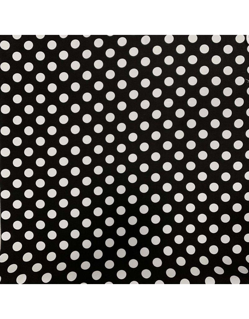Viscose Crèpe 2804 noir et blanc