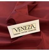 Venezia Stretch Voering AS01 - donkerrood