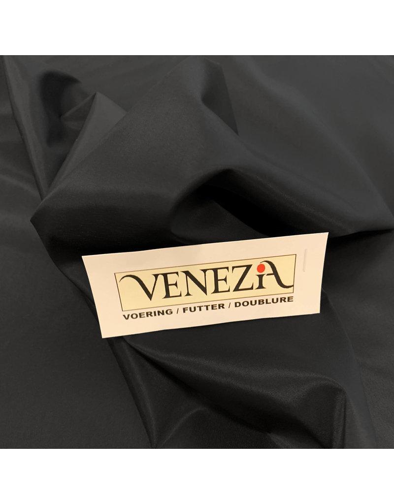 Venezia Stretch Voering AS05- zwart