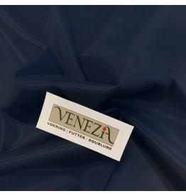 Venezia Stretch Voering AS06- donker blauw