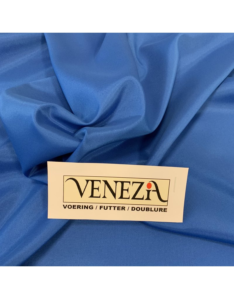 Venezia Stretch Voering AS07- kobalt blauw