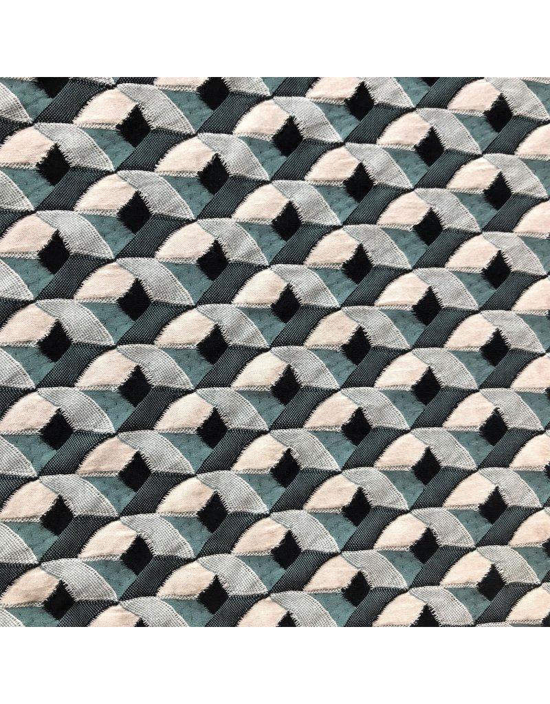 Jacquard Knitted W151 - sea green