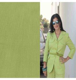 Linen 2814 - lime green