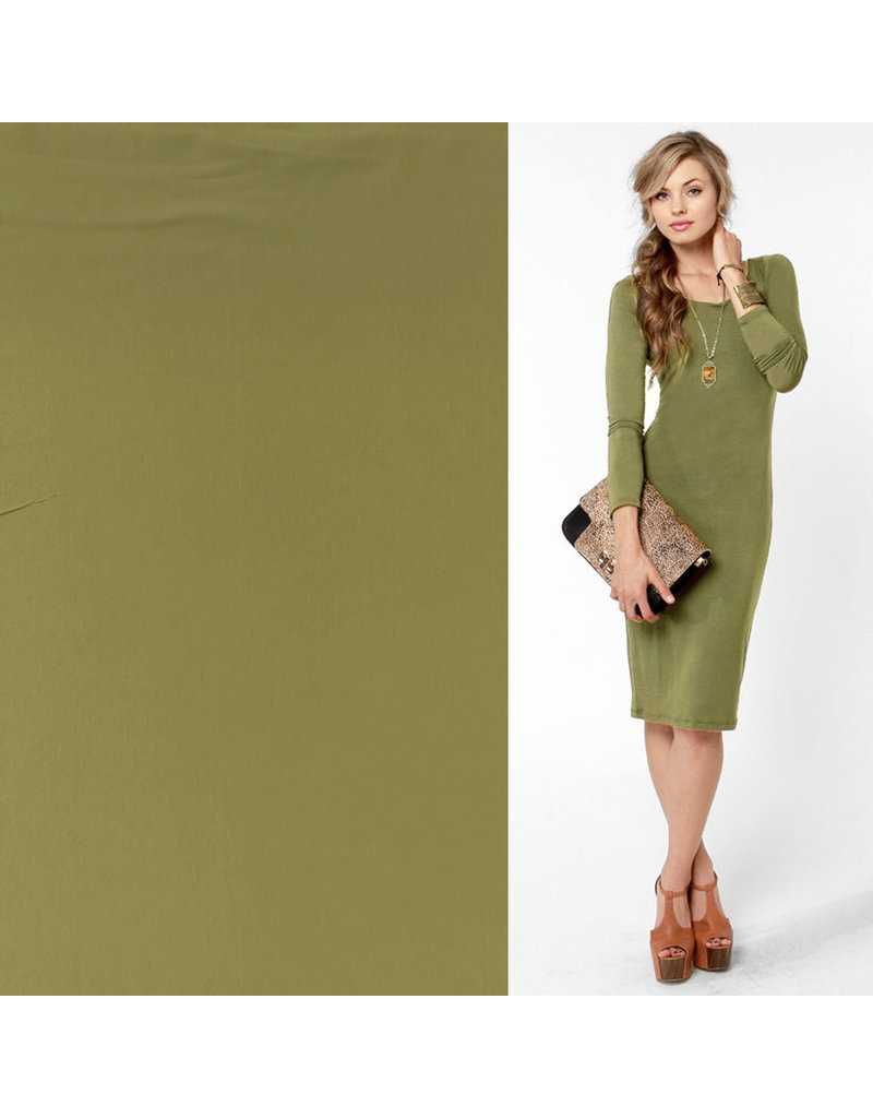 Soft Touch Travel Jersey TP20- light olive